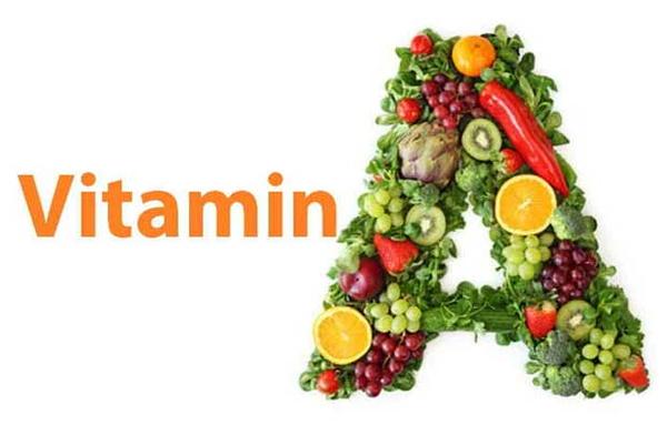 triệu chứng thiếu vitamin A
